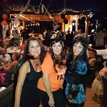 Great Halloween party with friends at Garden Bar
