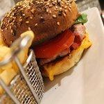 Cheeseburger bacon