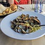 Ristaurante Stella's Pasta with Clams... Wonderful!