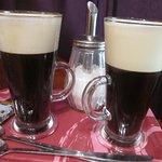 Irish coffees...