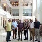 Indian Army Veterans Group with the Ex VCOAS Lt Gen Aryal of Nepal Army at Hotel Grand Hanoi
