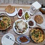 Shakshuka & Tabbouleh salad