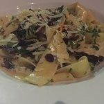 Pastas con salsa de hongos y brocoli