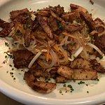 Salade thaï de poulet coriandre et citronnelle
