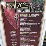 Raizes restaurante Resmi