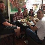 The group having lunch at Kantipur Tandoori House - Thamel