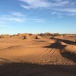 Dans le désert ...