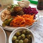Medium Falafel platter