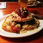 Roguetrippers LOVED the turkey dinner sandwich at the Ithaca Ale House.