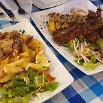 Calamari and Mixed Grill