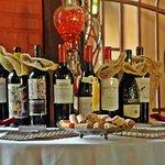 Mesa de vinhos!