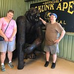 Skunk Ape Research Headquarters, Ochopee, FL. Photo courtesy of Captain Bubby's Island Tours.