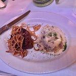 Steak and Garlic Mashed