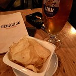 Cold Beer and chips !