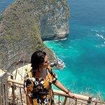 Kelingking beach at Nusa Penida Island