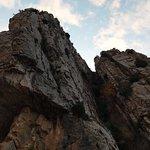 Formación geológica cercana al Molino.