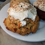 Cookie carrot cake