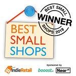 We won! Uk Best small shop :)