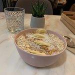 Delicious smoothie bowl