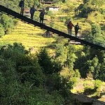 Bridge en route to a village on the Nuwakot Trek.