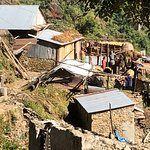 Rural village on the Nuwakot Trek.