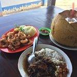 Makan dengan view laut