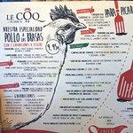 Le Coq Las tablas Photo