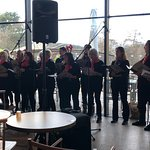 Christmas carols sung by local choir