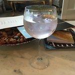 Pink gin....utter delightful
