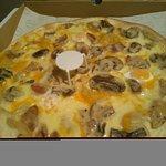 "Pizza ""Carbonara Royal"""