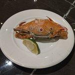 三點蟹,蟹肉少,比較像是吃氣氛...