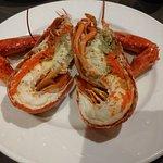 龍蝦,冷盤,吃第一隻後,就要想第二隻要怎麼自己變化口味...
