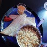 Filet de bar sauce chorizzo