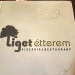 Liget Heviz - Etterem & Pizzeria fényképe