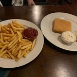 Fries and Fried Cheese!