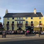 The Queens/Dalkey - Great to sit out on the patio during nice weather!