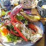 Salade au homard