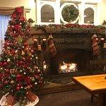Tasteful holiday decorations at Bintliffs