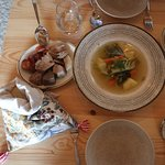 Dish of the day on December 13th, 2019: Cozido à Alentejana. The traditional dish of Cozido à Po
