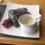 Chocolate fudge cake! Yum 😋