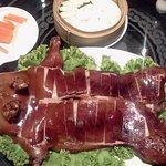 Suckling Pig หมูหัน ตัวละ 3,580++ — ที่ Man Ho at JW Marriott
