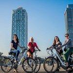 Excursão de fotografia de bicicleta E Barcelona