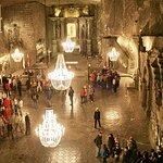 Miniera di sale di Wieliczka PICCOLA MINIVAN GROUP Tour guidato da Cracovia
