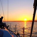 Sunset Sailing Tour On The Tagus River