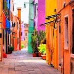 Halb-individuelle Tour zu den Inseln Murano und Burano