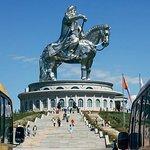 成吉思汗一日游与Gorkhi-Terelj国家公园