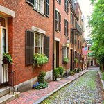 Copley Square naar het centrum van Boston Freedom Trail wandeltour