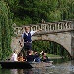 Promenade en barque à Cambridge
