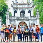 Small Group Half-day Tour at Hanoi City with Temple and Mausoleum