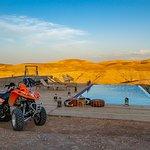 Agafay desert quad biking